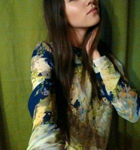 Блузка/блуза/кофточка женская шифон