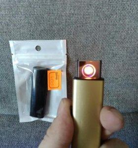 Зажигалки электронные металл