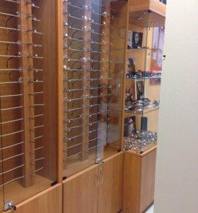 Мебель для магазина оптики