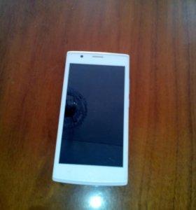 Телефон Fly FS501 Numbus 3  белый