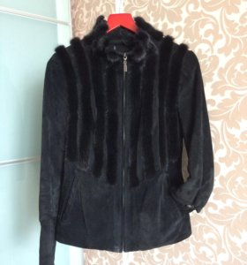 Куртка замша+ куртка в подарок