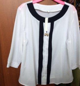 Новая блузка 52 размер