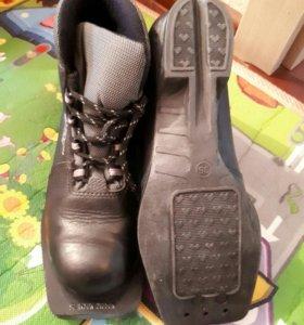 Ботинки лыжные 36р-р