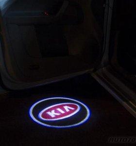 Подсветка в двери KIA