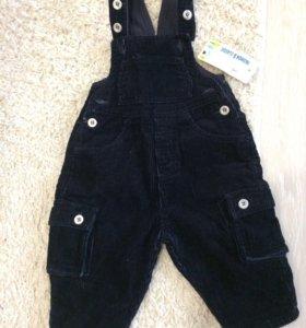 Вельветовые штаны Новые