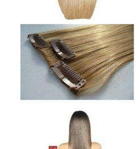 Волосы на тресах