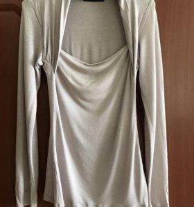 Трикотажная блуза, р46