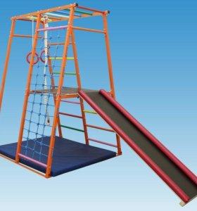 Детский спортивный комплекс ТЕРЕМОК-М с площадкой