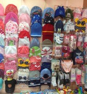 Шапки, шарфы, манишки , носки