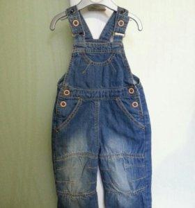 Комбез джинсовый боркито