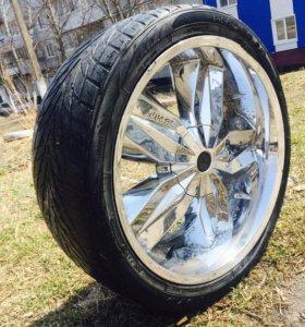 Продам колесо на запаску джипа