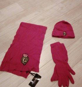 Комплект (шапка, шарф, перчатки)