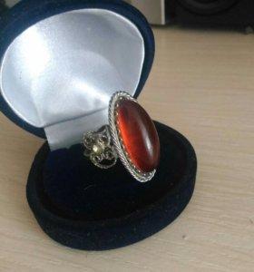 Кольцо, перстень, винтаж, ссср