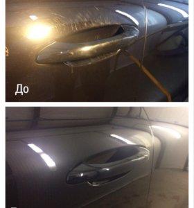 Полировка и химчистка автомобиля