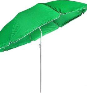 Пляжный зонт с наклоном