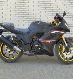 НОВЫЙ мотоцикл Super Range ZF-KY 250-2.