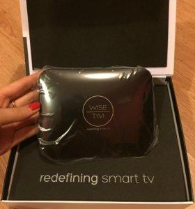 Android Smart TV приставка WiseTivi в подарок