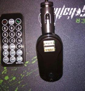 FM трансмиттер(USB, AUX, Bluetooth)