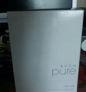 Продам мужскую  и женскую туалетную воду Avon Pure
