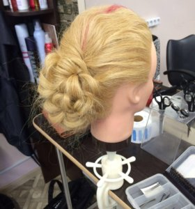 Причёски , плетение кос