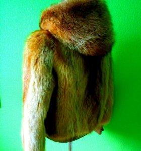 Шубка-куртка из лисы
