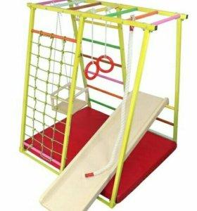 Детский спортивный комплекс с рукоходом ТЕРЕМОК-М