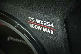 Сабвуфер автомобильный Pioneer tswx254