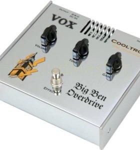 Ламповая педаль эффектов VOX Big Ben Overdrive