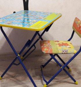 Столик детский стул детский