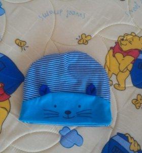 Классная шапочка на малыша