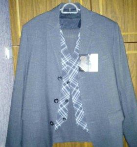 Костюм - тройка (пиджак, жилет, брюки)