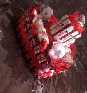 Подарки из шоколадов