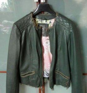Кожаная куртка оригенал