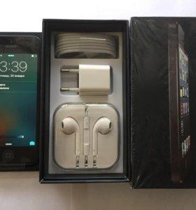 iPhone 5 16gb black (как новый)