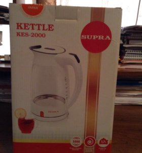 Чайник Supra KES-2000 рабочий белый