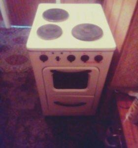 Электрическая плита старой модели но не пользовали