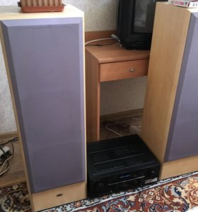 Продам колонки ELTAX и ресивер PIONEER VSX-421-k