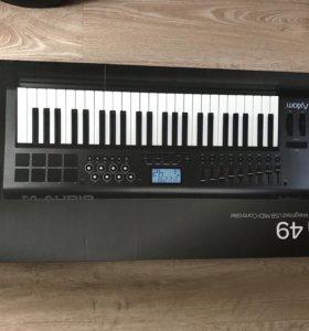 M-audio Axiom49 + стойка