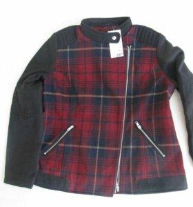 Женское пальто - куртка НОВОЕ 52-54