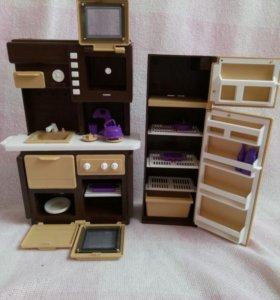 Мебель для кукол барби (кухня)