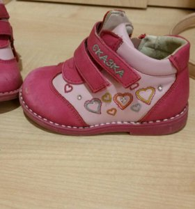 Ботинки для девочки 20 размер