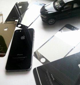 Защитное стекло на Iphone 6s,  Iphone 5s