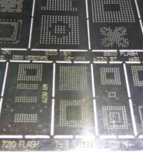трафарет для пайки BGA микросхем
