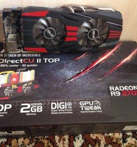 Видеокарта Radeon R9 270x 2gb