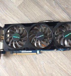 Видеокарта Nvidia GeForce GTX 560 TI  (Gigabyte)