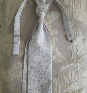 красивый свадебный галстук