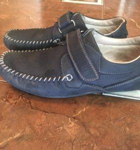 Мокасины туфли 30-31 размер