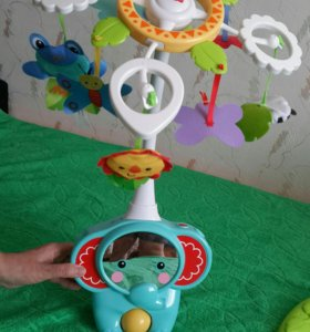 "Мобиль ""Fisher Price"" 3 в 1."