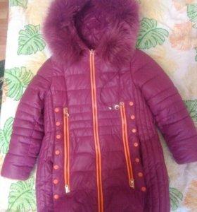 Пальто зима(6-8 лет)