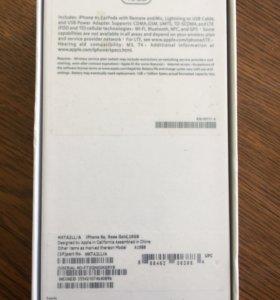 Новый iPhone 6s 16gb Rose Gold